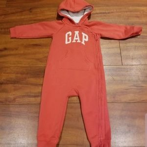 Gap one piece zip up 18-24m
